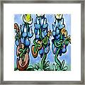 Blues Bonnets Framed Print