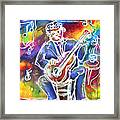 Blues Man Framed Print by M C Sturman