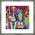 Blues Music Framed Print
