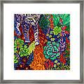 Bobcat Kachina  Framed Print