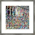 Bonfim Wish Ribbons Framed Print