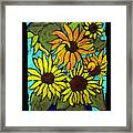 Boquet Of Sunshine Framed Print