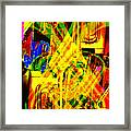 Brass Attack Framed Print