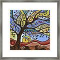 Breeze Among The Branches Framed Print