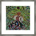 Bride Of Mountains And Meadows Framed Print