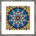 Brigadoon No. 1 Kaleidoscope Framed Print