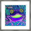 Bright Eyes 3 Framed Print by Nick Gustafson