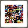 Broadway 3 Framed Print