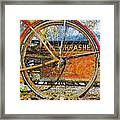 Broken Down At Thrashers Framed Print
