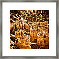 Bryce Canyon Vertical Image Framed Print