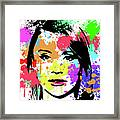 Bryce Dallas Howard Pop Art Framed Print