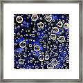 Bubble Baubles Framed Print