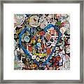 Bubblegum Love Framed Print