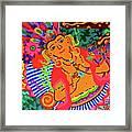 Buddah Love Framed Print