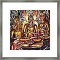 Buddha Reflections Framed Print