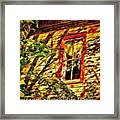 Busted Pain 2 Framed Print
