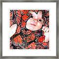 Butterfly Baby Framed Print