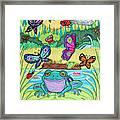 Butterfly Lake Framed Print