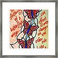Butterflywhispers4 Framed Print