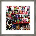 Buy From Me Day Of The Dead  Framed Print