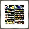 Buy Happiness, Automated By Vending Machine Framed Print