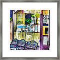 Cafe Joul Framed Print