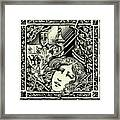 Lancelot And Guinevere Framed Print