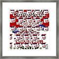 Campbells Mushroom Soup Squared Framed Print