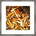 Can Give Up Smoking Framed Print