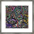 Candy Abstract Framed Print