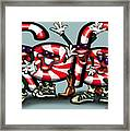 Candy Cane Gang Framed Print