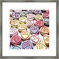Candy Love Photography Framed Print by Michael Tompsett