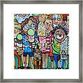 Candy Store Kids Framed Print