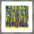 Can't See The Forest Framed Print