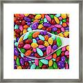 Candy Covered Sunflower Seeds Framed Print