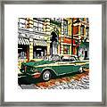 Car Club 1960s Framed Print