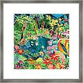 Caribbean Jungle Framed Print