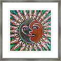 Carnavale Sunset Framed Print