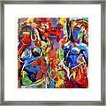 Carnival- Large Work Framed Print