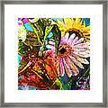 Carnivale Flori Framed Print