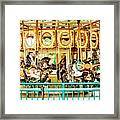 Carousel - Como Zoo, St. Paul, Minnesota Framed Print