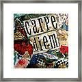 Carpe Diem Framed Print