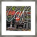 Carrot Top On Broadway Framed Print