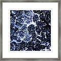 Chaotic Pattern Framed Print