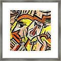 Characters By Rafi Talby Framed Print