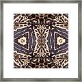 Cheetah Print Framed Print