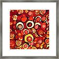 Cherry Tarts Framed Print