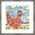 Chicken Of The Sea Framed Print