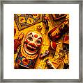 Childhood Toys Framed Print