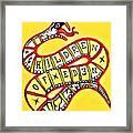 Children Of Eden's Snake Of Temptation Framed Print